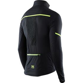 X-Bionic Spherewind Pro Running Jacket Men Black/Neon Yellow